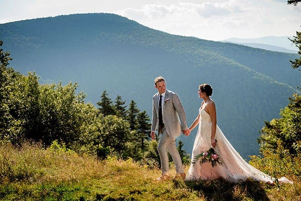 Brockway mountain wedding