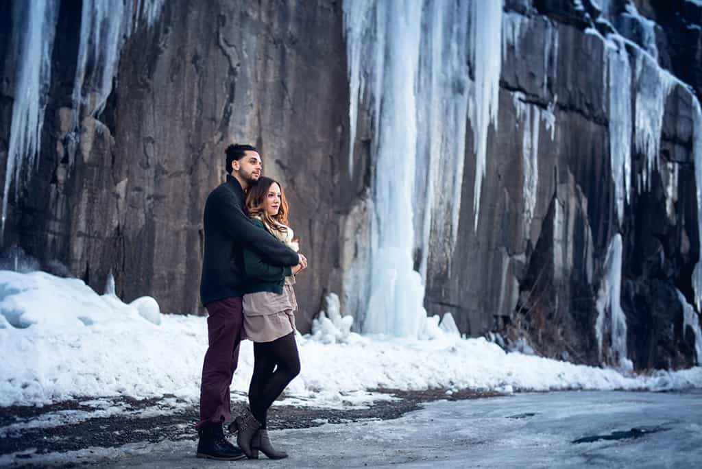 Hawk's Nest Engagement Session : Chelsea & Bryan - Custom by Nicole Photography : Hudson Valley ...